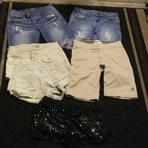 6 pair shorts Sz 1 bundle